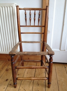 dining chair stripped