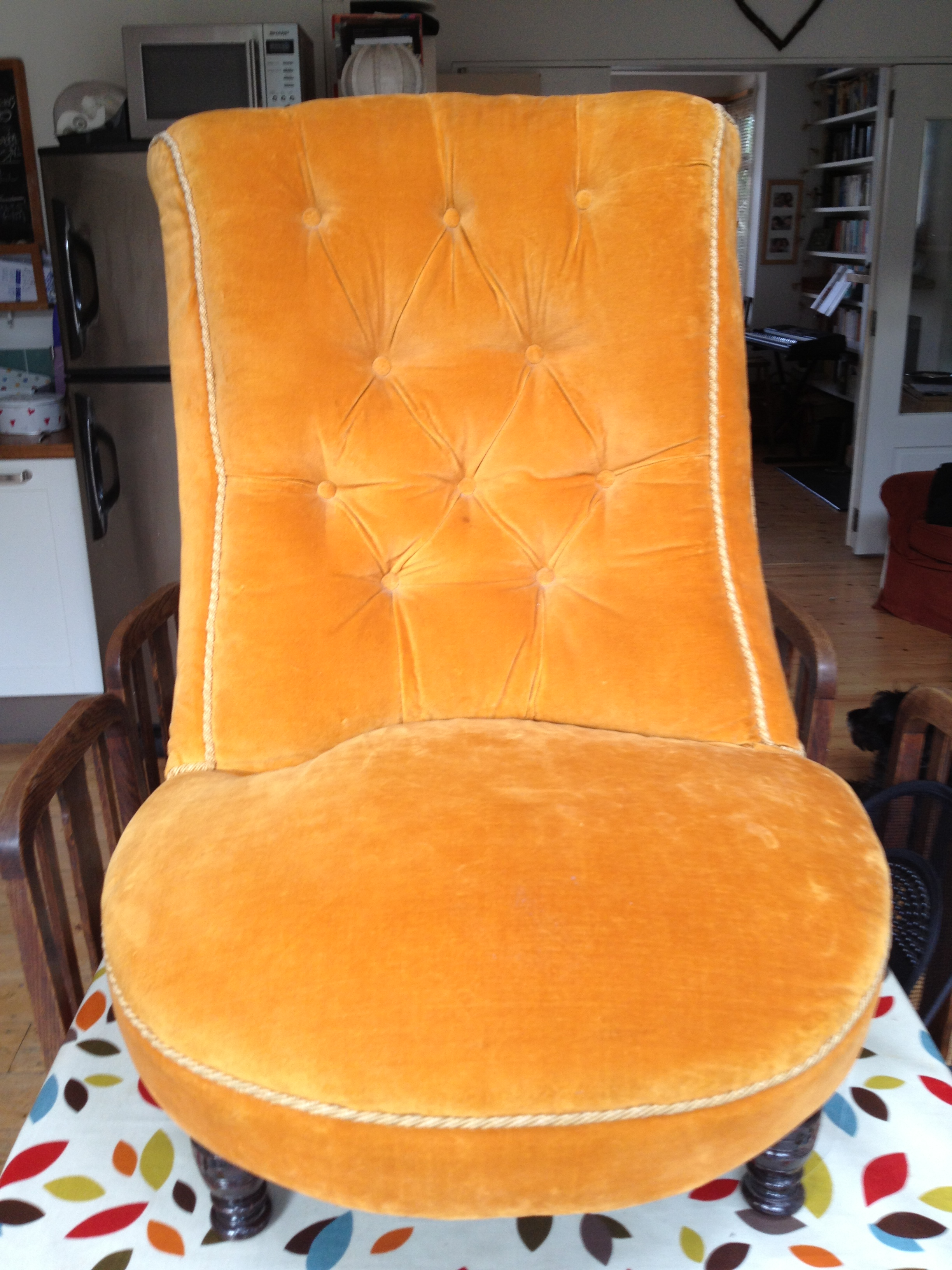 Before And After Spring Upholstery