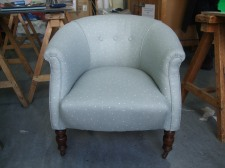 Victorian tub chair