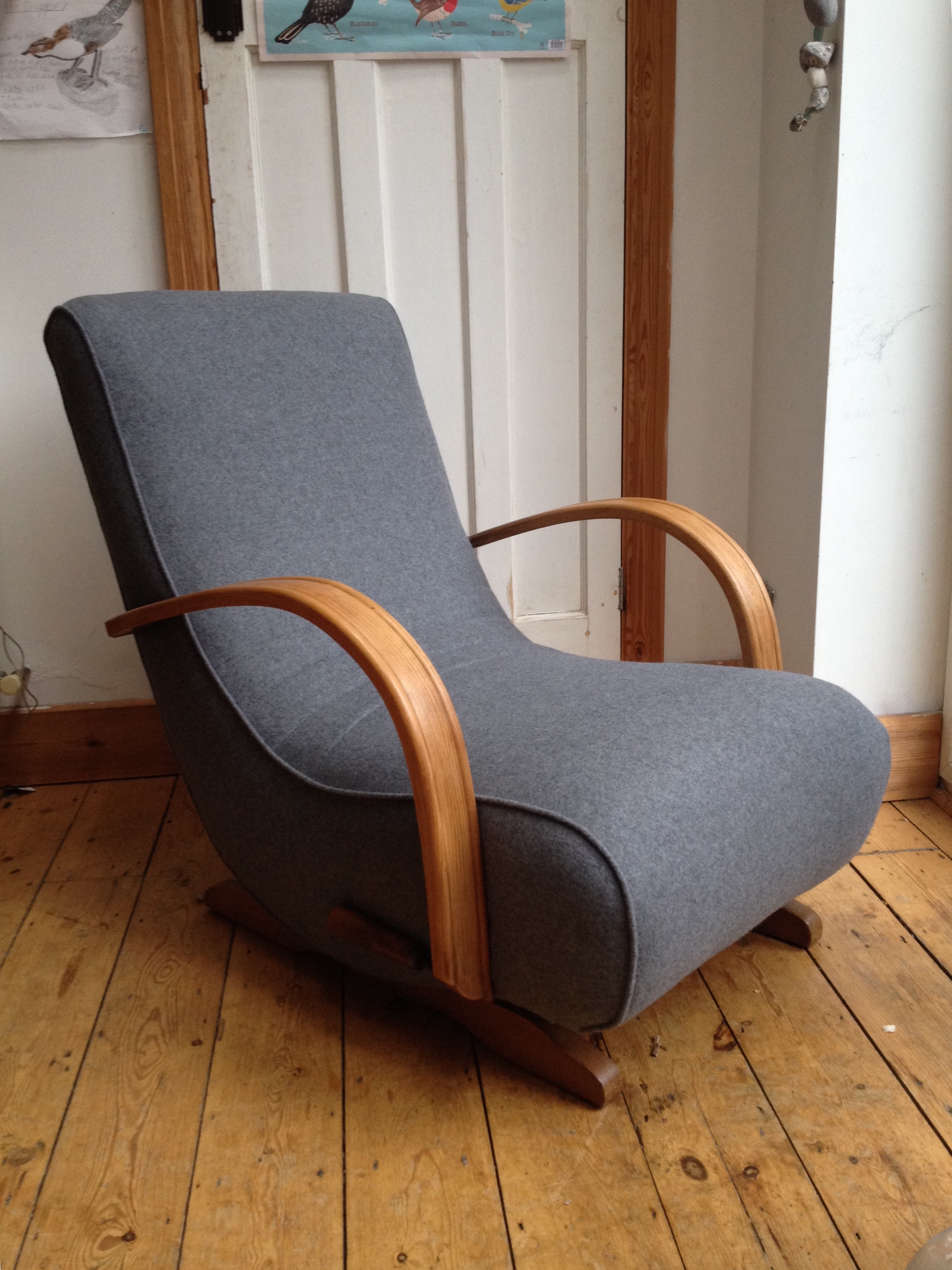 Spring Upholstery Giving Old Chairs A New Lease Of Life