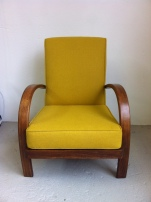 1940's bentwood arm chair
