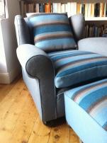 1930's club arm chair