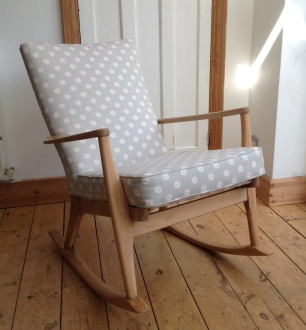 1960's Parker Knoll rocking chair