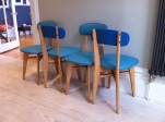 1950's dining chairs