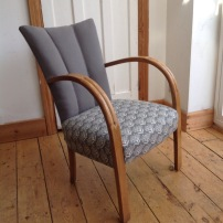 1930's chair with fluted back