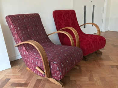 pair of Utility rocking chairs