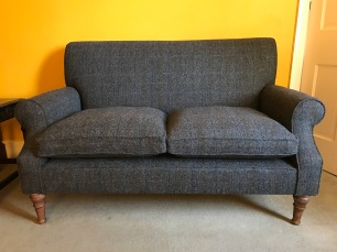 Sofa in Harris Tweed