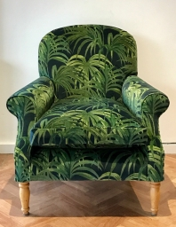 Armchair in House of Hackney velvet