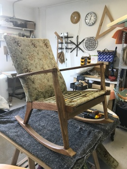 1950's Parker Knoll rocking chair