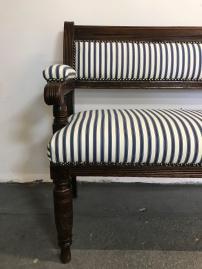 Victorian bench seat