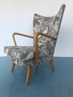 Howard Keith chair in St Judes' Fabric