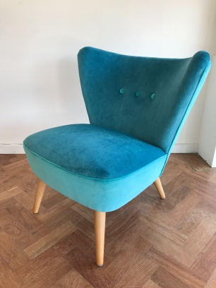 1950's German cocktail chair