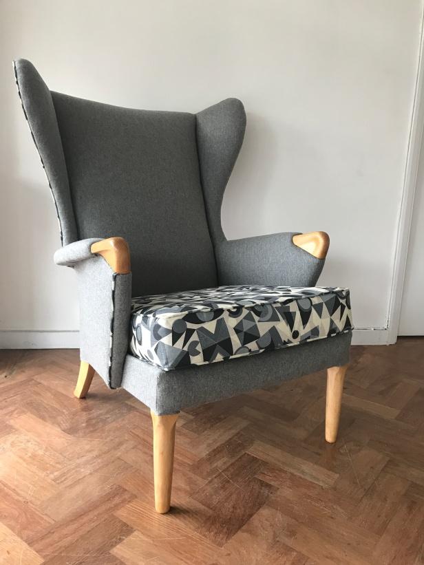 1950's 'Papa Bear' Parker Knoll armchair