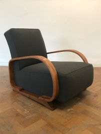 1930's Heals arm chair in Bute Melrose